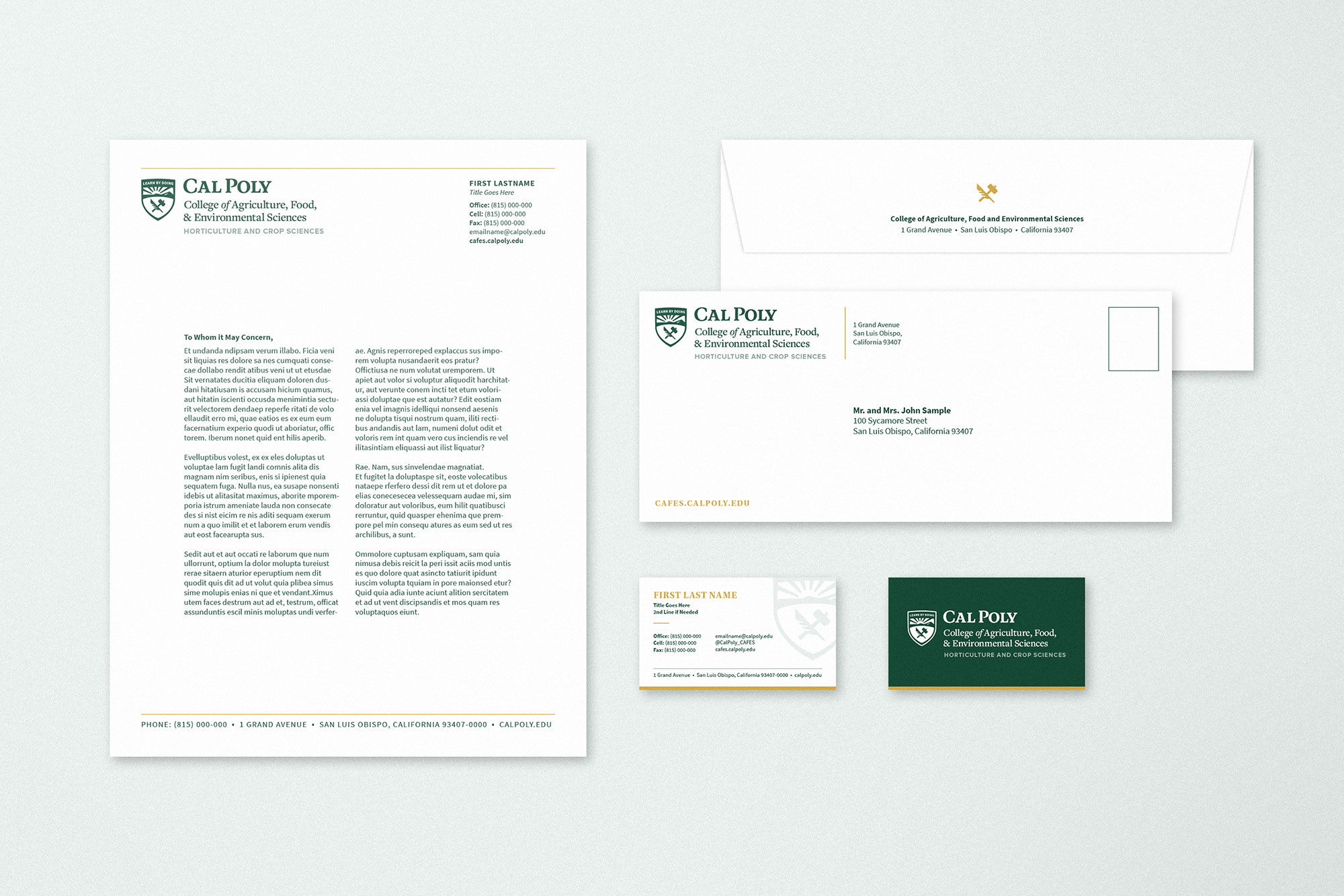 Cal Poly Stationary