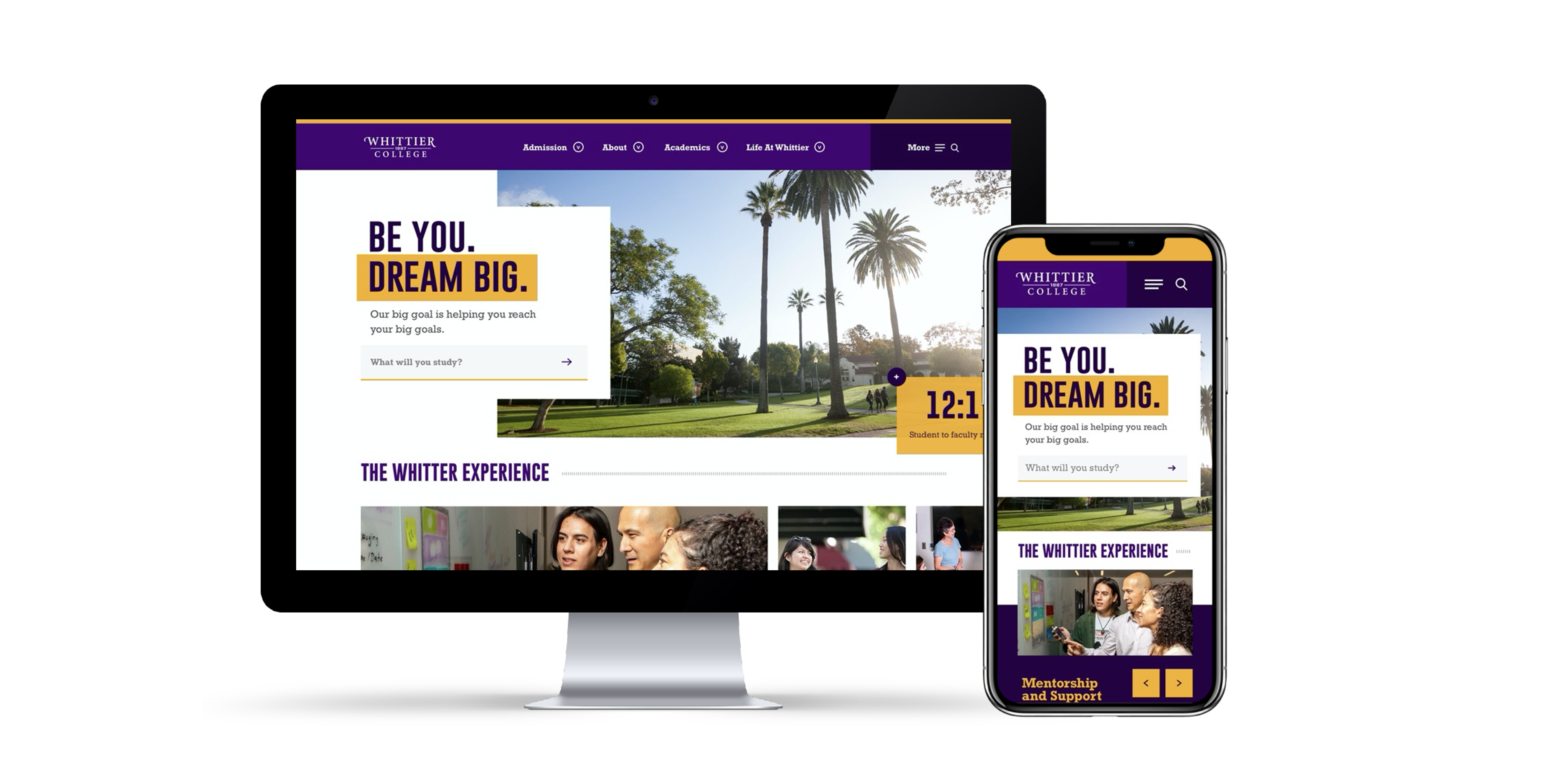 Whittier College - Desktop