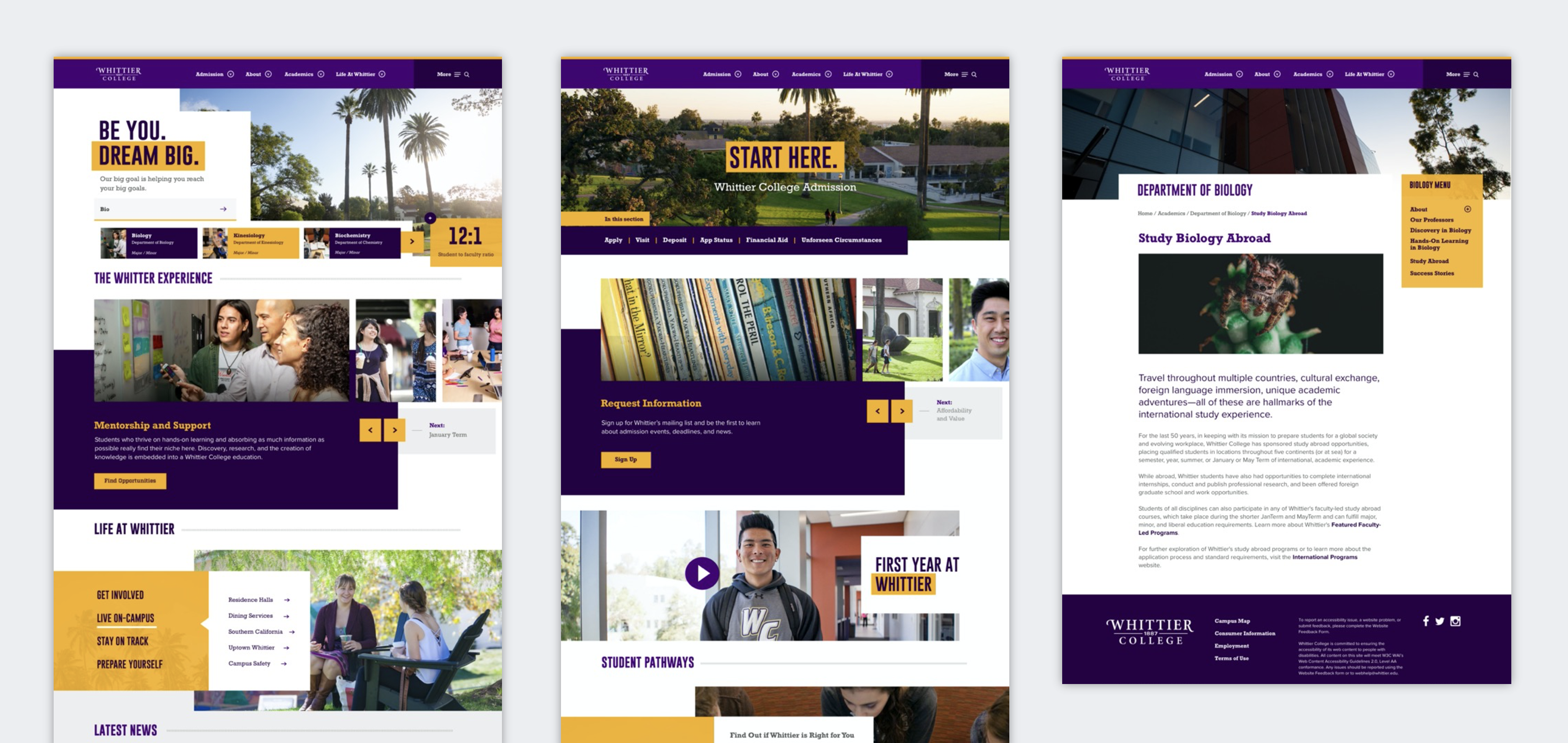 Whittier College - Web
