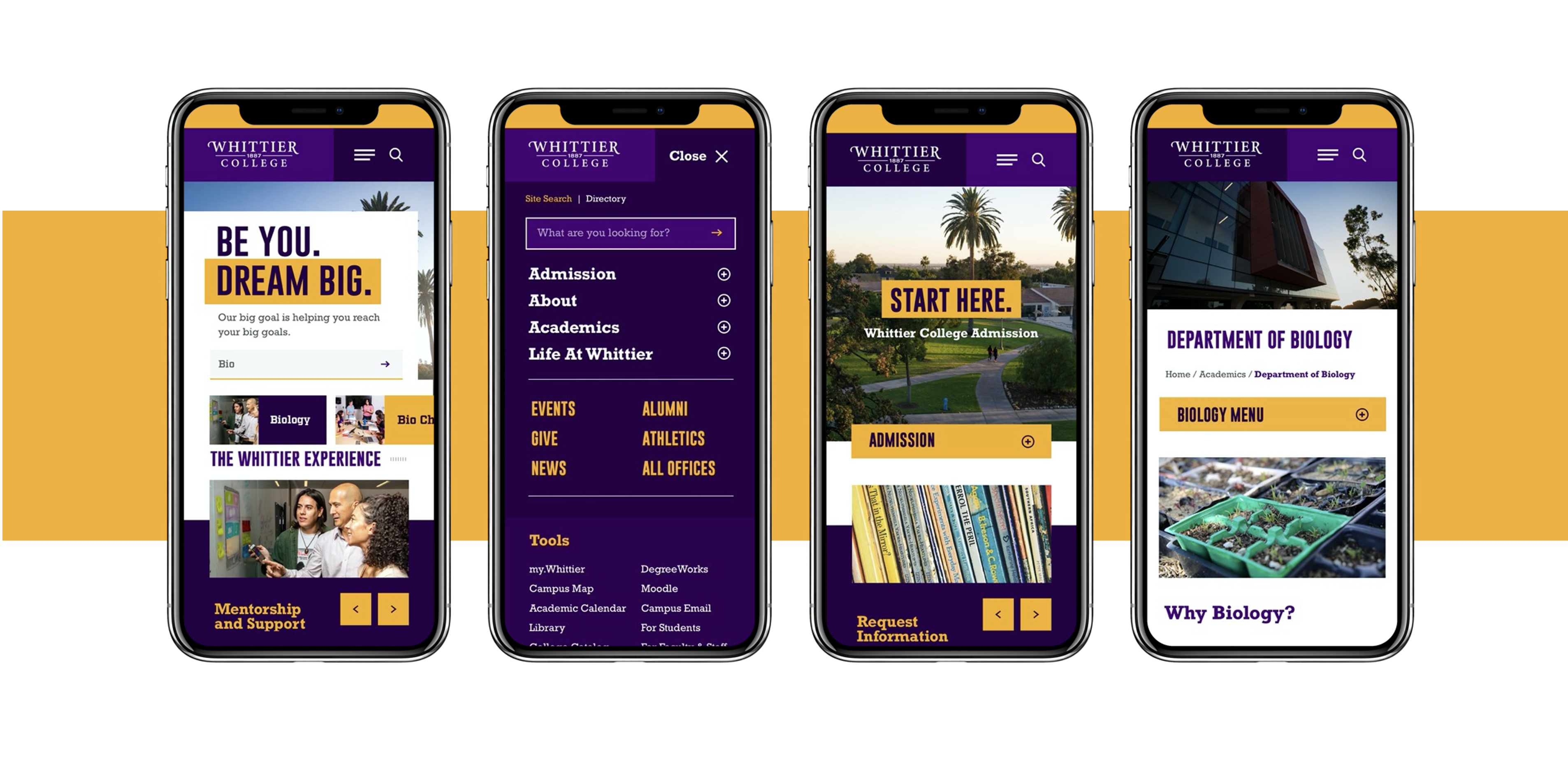 Whittier College - Mobile