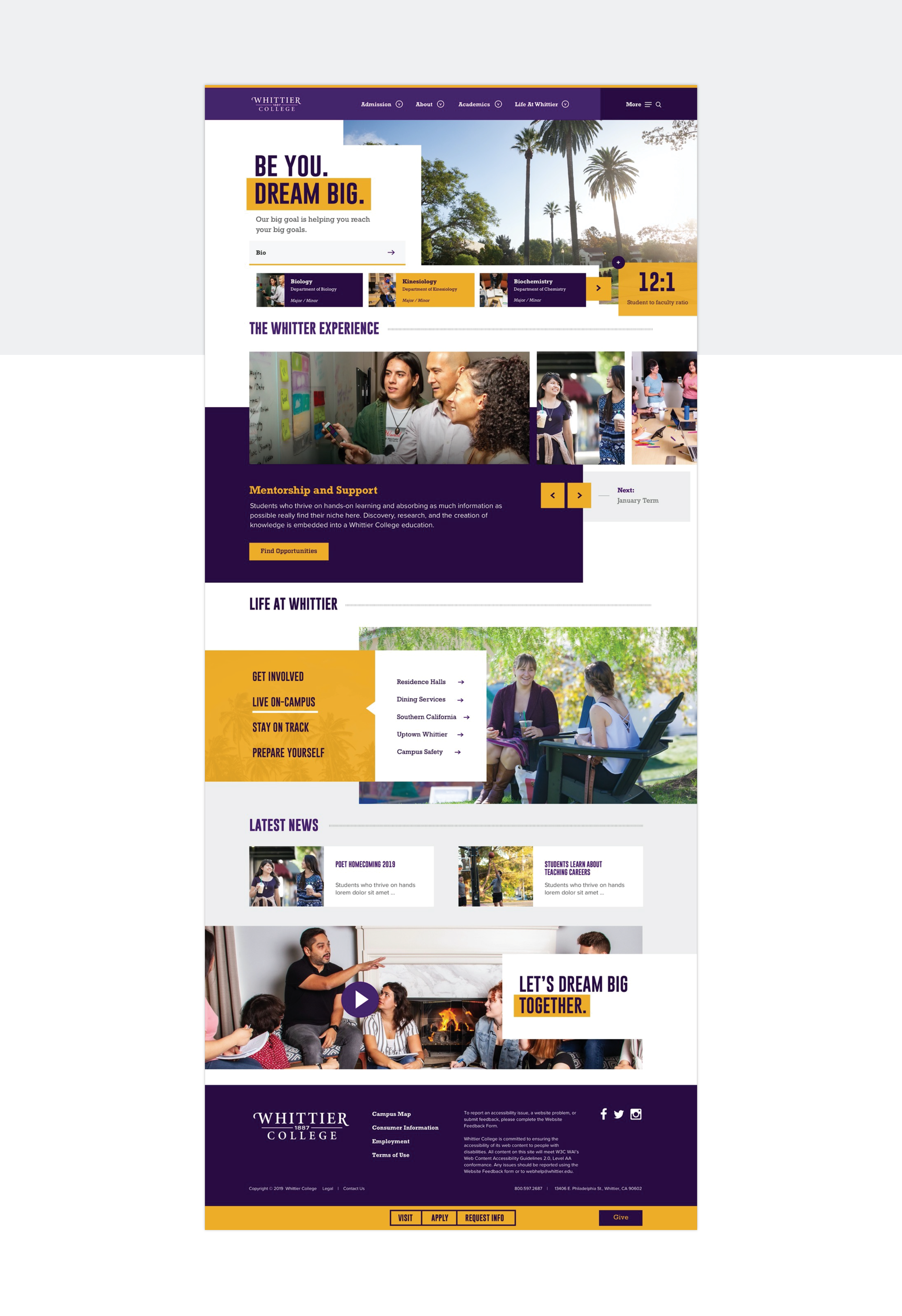 Whittier College - Web Full Length