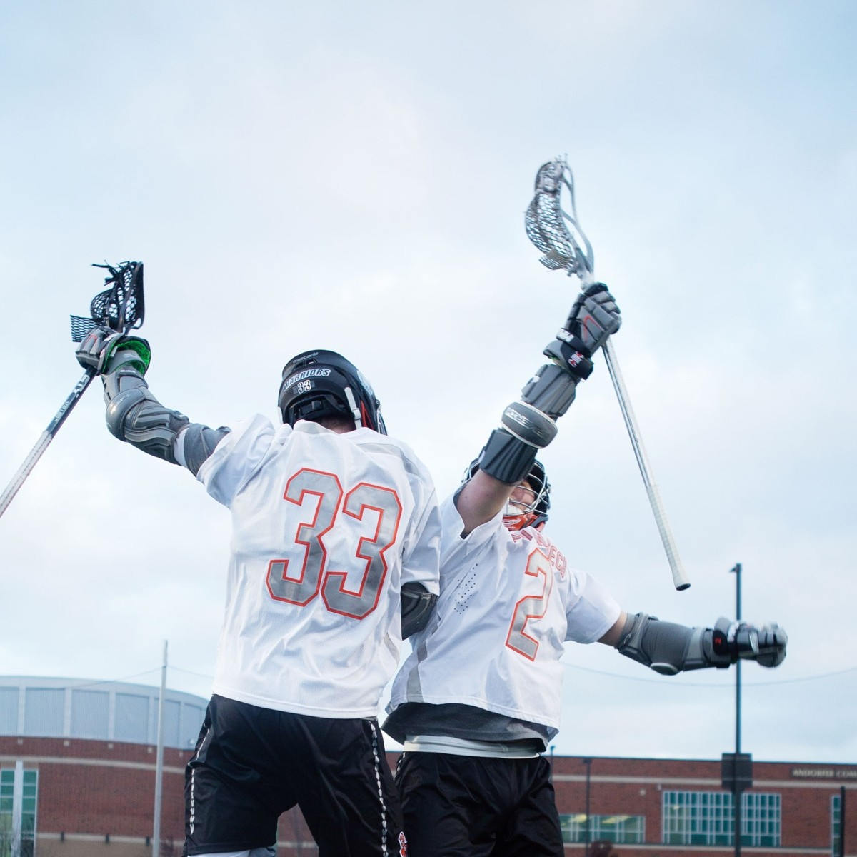 Indiana Tech - Lacrosse players